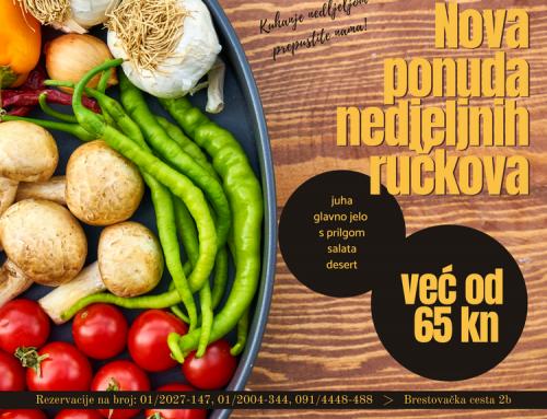 Kuhanje nedjeljom nikad nije bilo lakše: Nova ponuda nedjeljnih ručaka u restoranu Gallus