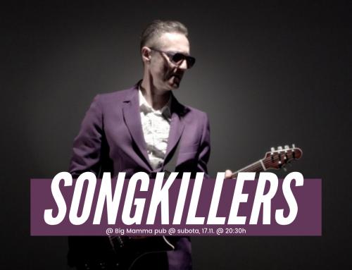 Ponovno pred zagrebačkom publikom: Lociranje uspomena i zabava uz Songkillerse u Big Mamma pubu