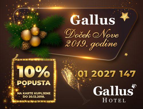 Dočekajte Novu godinu u hotelu Gallus
