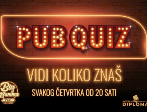 Big Mamma pub Quiz show