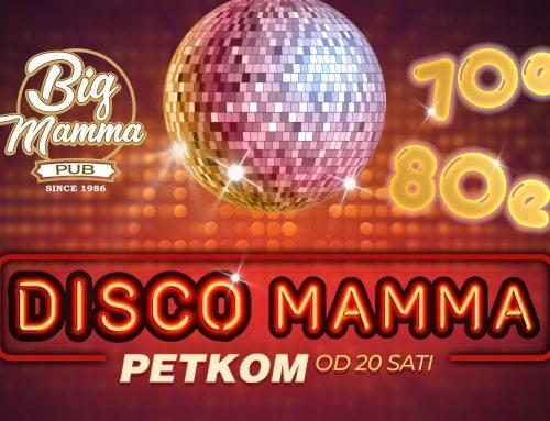 Zakoračite u Disco Mamma i vratite se u prošlost sa spektakularnom disco zabavom