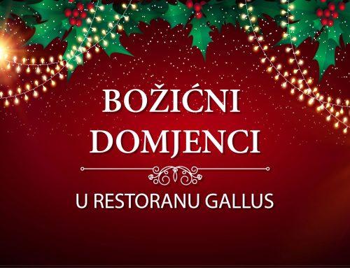 Božićni domjenci u Gallusu