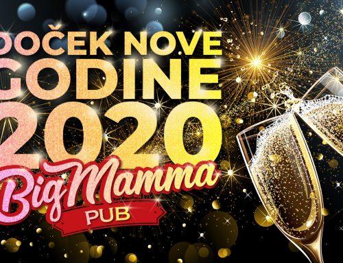 Doček Nove godine 2020 u pubu Big Mamme